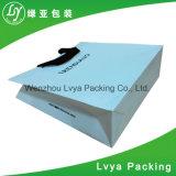 Sacs en papier de achat estampés réutilisés d'usine