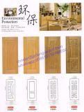 precio decorativo de la piel de la puerta del MDF de la madera contrachapada del fabricante de 740*2150m m Wholsale