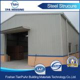 Edificio industrial de la estructura de acero de la construcción del marco de acero