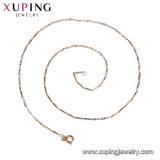 44146人の最も新しく優雅な18K金の模造宝石類40-45cmの長さの女性のネックレス