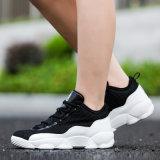 O basquetebol High-Top dos homens ostenta sapatas respiráveis ocasionais da forma das mulheres do engranzamento das sapatilhas