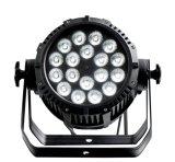 Rasha外部IP65は段階教会イベント党のためのRgbaw紫外線6in1 LEDsの高い明るさLEDの同価ライトを防水する