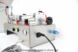 Máquina de rellenar líquida perfume principal neumático del acero inoxidable del solo