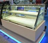 Gabinete de indicador do refrigerador do aço inoxidável para o bolo/pastelaria (S830A-S2)