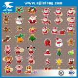 Het vrolijke Overdrukplaatje van de Sticker van het Lichaam van de Motorfiets van de Auto van Kerstmis
