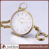 Relógio Pocket grande da forma todo o relógio Pocket de aço inoxidável