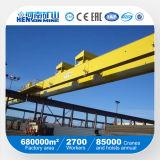 Puente rodante doble de la carretilla para la planta del tubo de acero