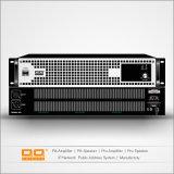 Amplificador de potência audio profissional do estágio