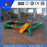 Les séries Rcdd-10 sèchent le séparateur magnétique électrique autonettoyant de fer de balancement latéral pour l'usine de la colle