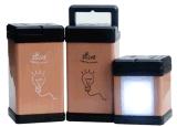 Magnifique design Lanterne solaire Éclairage LED lampe de bureau avec chargeur USB