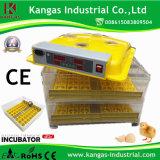 Incubateur approuvé d'oeufs de 96 poulets de la CE en gros mini