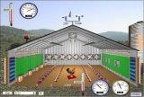 Instalación de la casa de la estructura de acero (DG3-009)
