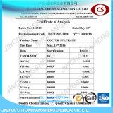 Pentahydrate van het Sulfaat van het Koper van de Rang van het Elektron van 98%