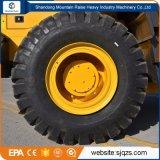 중국 정면 건축기계 조이스틱을%s 가진 5 톤 바퀴 로더