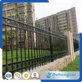 Einfacher blauer Wohnsicherheits-bearbeitetes Eisen-Zaun (dhfence-3)