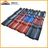 Azulejo de azotea material del PVC del panel del PVC de la hoja del PVC del azulejo del PVC de la estructura