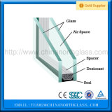 Vetro Basso-e isolato prezzo di vetro basso triplice in linea del certificato di Ce&ISO/fuori linea di E