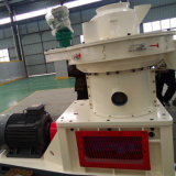 El aserrín de madera paja de arroz cáscara de biomasa de pellets de combustible que hace la máquina
