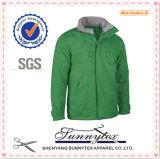 2016 projeto Longsleeve Jacket com Fleece Inside