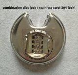 Blocage de disque de combinaison, blocage de l'acier inoxydable 304, cadenas Al-S80 de combinaison