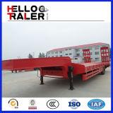 Gemaakt in Goede Fabriek 60 van China de Lage Semi Aanhangwagen van het Bed 80 100ton