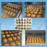 Máquina pequena barata e automática do biscoito para a venda