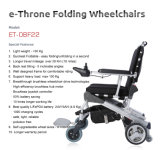 Горячее сбывание! Новая новаторская конструкция кресло-коляска силы заднего колеса 8 дюймов электрическая складывая моторизованная кресло-коляской с сертификатом Ce