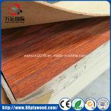 Placa lustrosa elevada do MDF da planície da melamina da madeira compensada de E1 E2