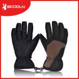 人および女性のための個人化された冬のミトン手のスキー手袋に警告しなさい
