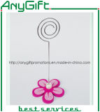 Adorable clip de notas con soporte de resina con logotipo personalizado 3