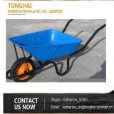 Wheelbarrow da construção pesada para construtores