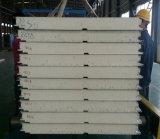 100mm 백색 색깔 튼튼한 방수 Polyurethane/PIR 샌드위치 벽면