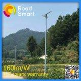Lâmpada de rua solar nova do diodo emissor de luz da chegada 15W da tomada de fábrica 2017