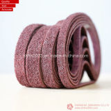 Grinding Metal、Woodのための上塗を施してあるAbrasive Sand Belts (VSM及び3M Raw Material)