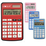12 Digits Dual Power Mini Size Pocket Calculator mit Various Optional Colors (LC360)