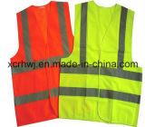 Mejores Ventas barato Poliéster chaleco reflectante de seguridad / CE / es ISO 20471 / ANSI personalización Chaleco de seguridad / buen precio colorido de Seguridad del Tráfico en chaleco
