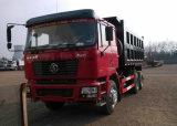 Shacman 6X4 375HP 30t~50tのダンプトラックのダンプカートラック