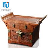 Nuevo diseño de la venta caliente de la joyería caja de madera con hardware