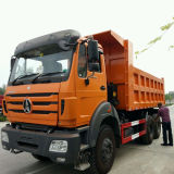 北のBenz Beiben Tipper Truck 6X4 380HP 40tons Dump Truck