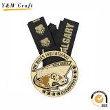 ベストセラーの金の金属円形メダル習慣Ym1181
