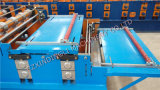Roulis de Double couche de toiture en métal formant la machine