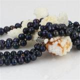 Snh 3 rema la venta al por mayor Wedding del collar de la perla de 8-9m m