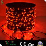 Het Sterrige Licht van Kerstmis van de Lichten van het multi LEIDENE van de Kleur Koord van Klemmen