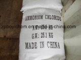 Cloruro de amonio de la categoría alimenticia de la fuente de los fabricantes