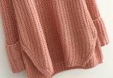봄 숙녀 자라목 스웨터 Retro 느슨한 긴 스웨터 Yf1520