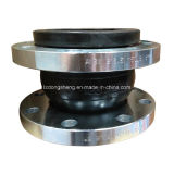 Junta de expansión de goma plateada de acero al carbono de una sola esfera