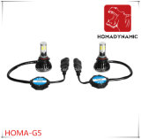 Bombilla 40W 80W de luz LED CE FCC RoHS Ceritification G5 LED de la linterna del coche LED 9005 9006