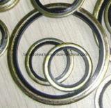 Guarnizioni legate di gomma del metallo