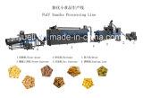 Produção soprada padrão nova dos petiscos que faz a máquina do fabricante