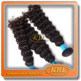 Unverarbeitetes Curly Weave von brasilianischem Hair